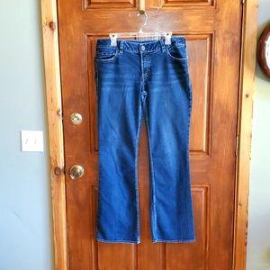 Silver Jeans Y2K Sz 36x34 slightly FlareBlue Jeans